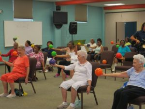 Chair Aerobics @ Heritage Place of Indianapolis