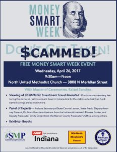 Money Smart Week - Don't Get $CAMMED - Rafael Sanchez, Host @ North United Methodist Church