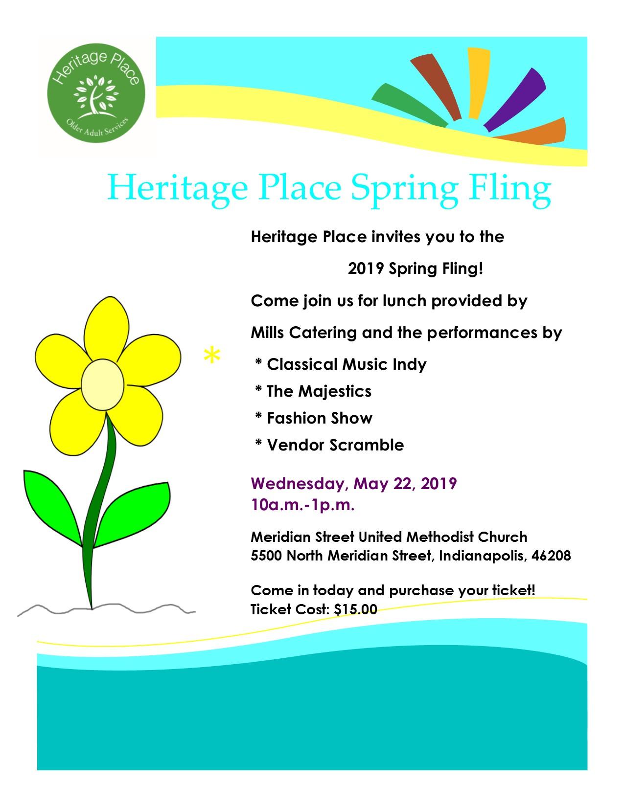 Spring Fling @ Meridian Street United Methodist Church