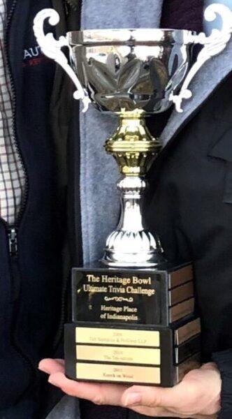 Trivia Bowl Trophy