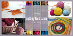 Knit, Loom Knit, and Crochet for a Cause (Zoom Platform) @ Zoom Platform